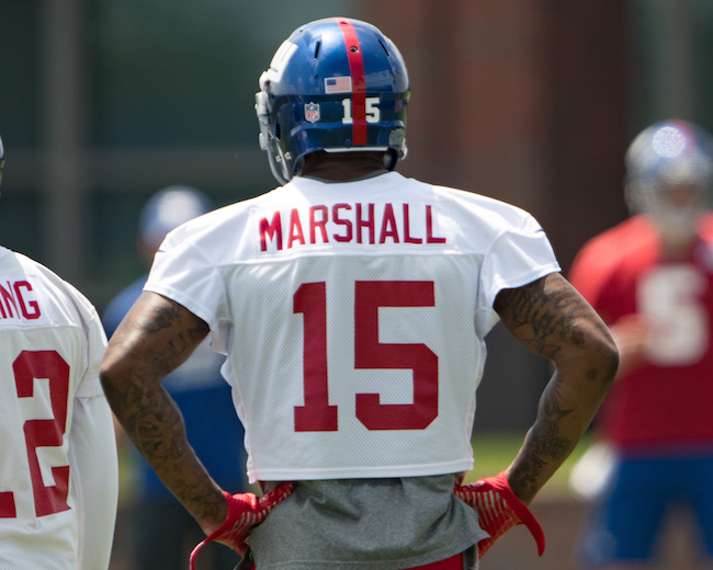 Brandon Marshall, New York Giants (June 13, 2017)