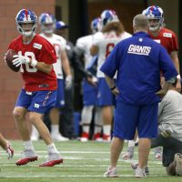 New York Giants Position Coaches Media Sessions; More OTAs