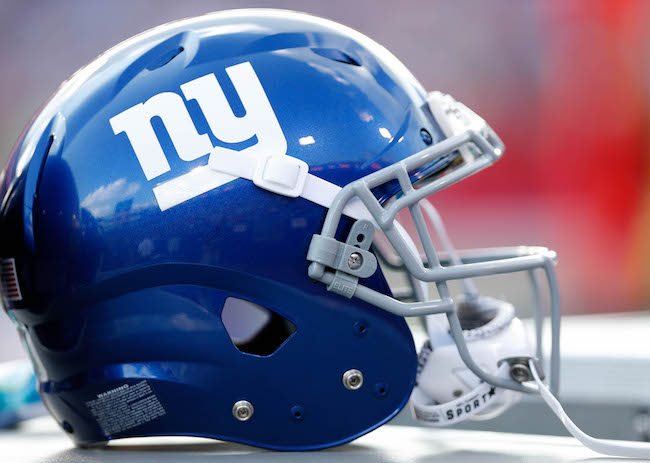 New York Giants Helmet (August 20, 2016)