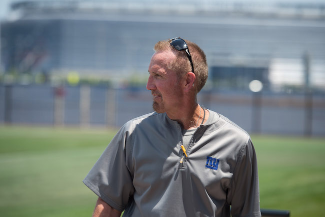 Steve Spagnuolo, New York Giants (June 13, 2017)