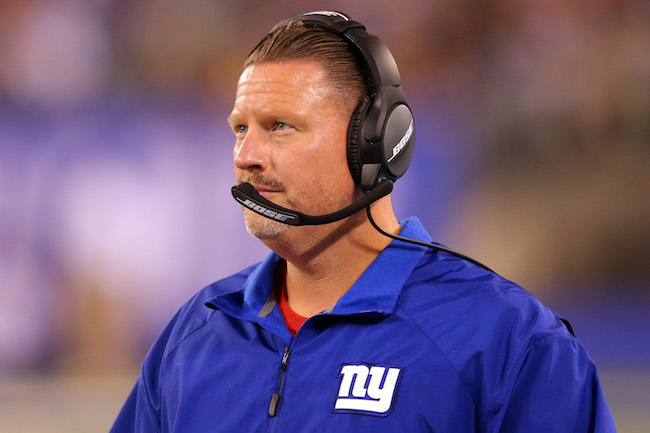 Ben McAdoo, New York Giants (August 11, 2017)