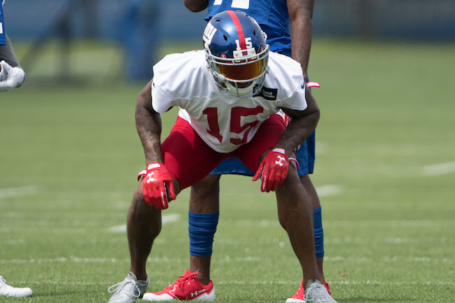 Brandon Marshall, New York Giants (July 28, 2017)
