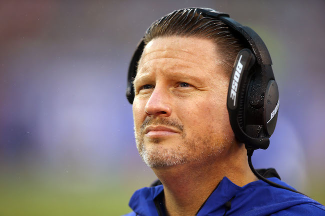 Ben McAdoo, New York Giants (November 5, 2017)