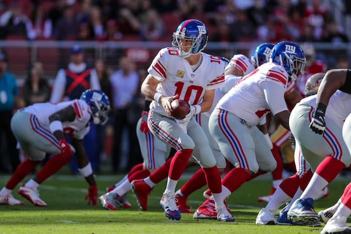 Eli Manning, New York Giants (November 12, 2017)