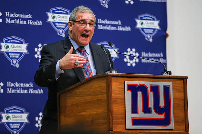Dave Gettleman, New York Giants (December 29, 2017)