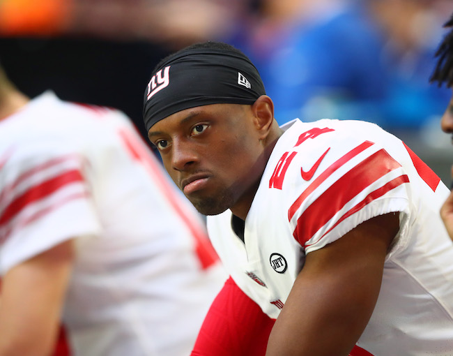Eli Apple, New York Giants (December 24, 2017)
