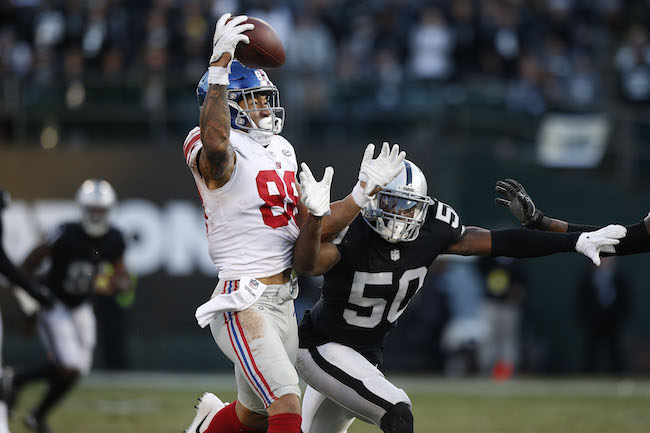 Game Review: Oakland Raiders 24 - New York Giants 17