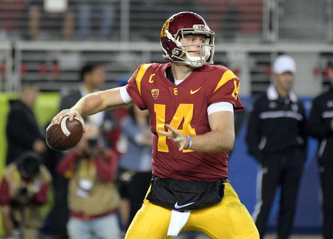 Sam Darnold, USC Trojans (December 1, 2017)