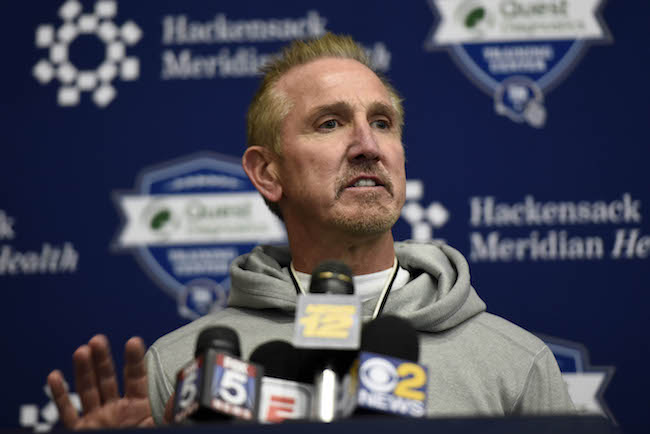 Steve Spagnuolo, New York Giants (December 6, 2017)