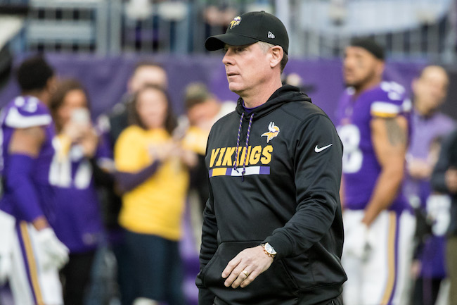 Pat Shurmur, Minnesota Vikings (December 31, 2017)