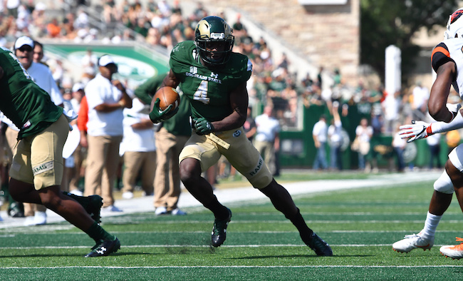 Michael Gallup, Colorado State Rams (August 26, 2017)