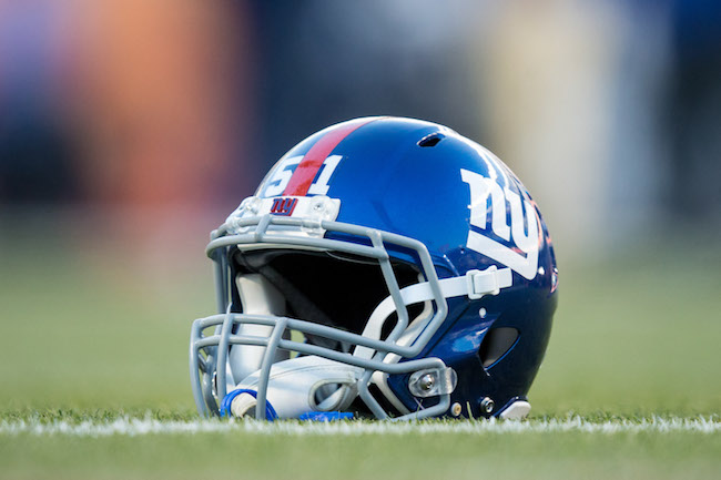 New York Giants Helmet (October 15, 2017)