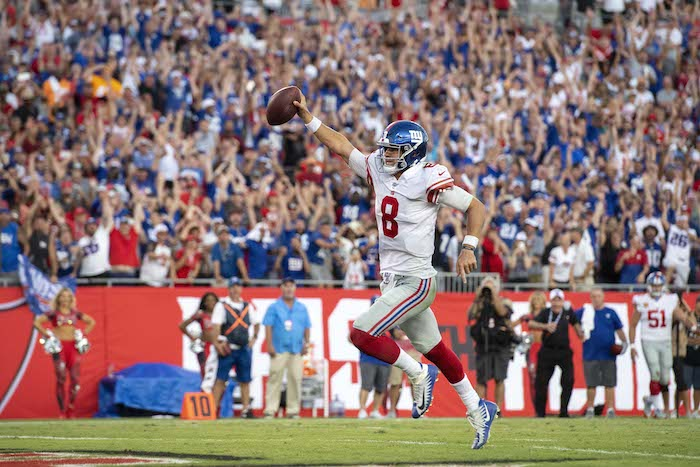 Daniel Jones, New York Giants (September 22, 2019)