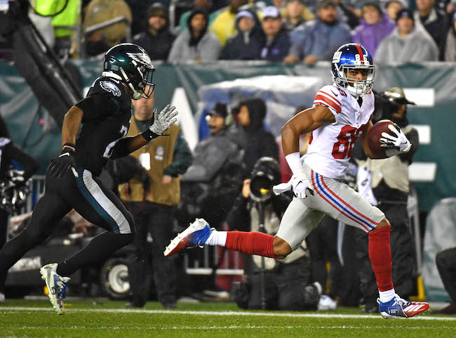 Darius Slayton, New York Giants (December 9, 2019)