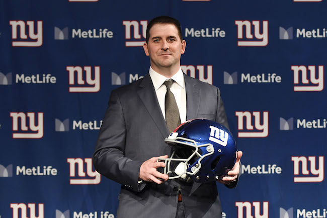 Joe Judge, New York Giants (January 9, 2020)