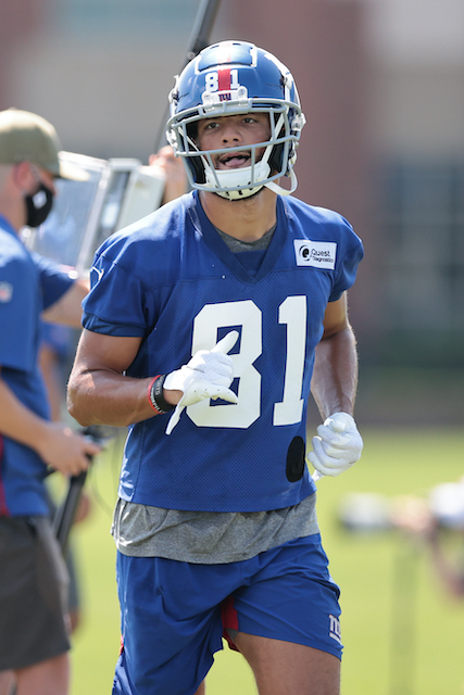 Austin Mack, New York Giants (August 23, 2020)