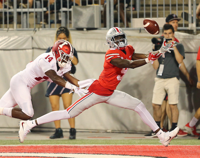 Binjimen Victor, Ohio State Buckeyes (October 6, 2018)