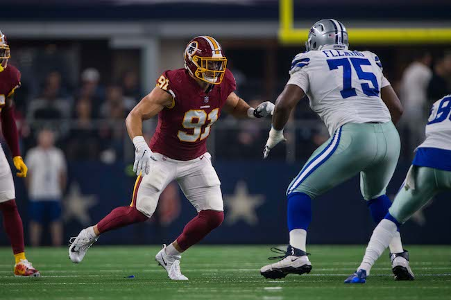 Cam Fleming, Dallas Cowboys (November 22, 2018)