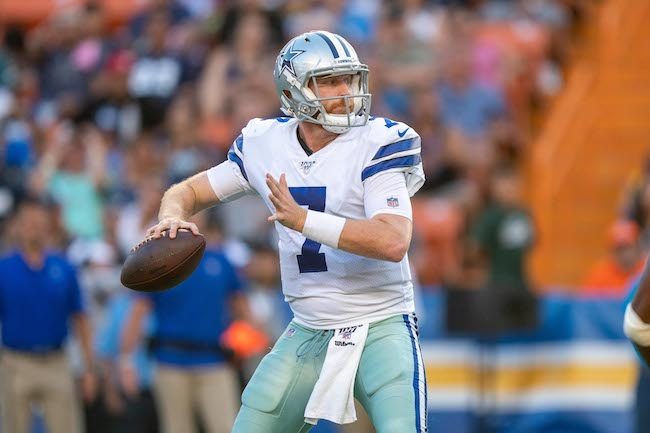 Cooper Rush, Dallas Cowboys (August 17, 2019)
