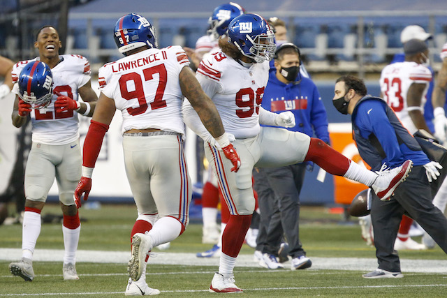 Dexter Lawrence and Leonard Williams, New York Giants (December 6, 2020)