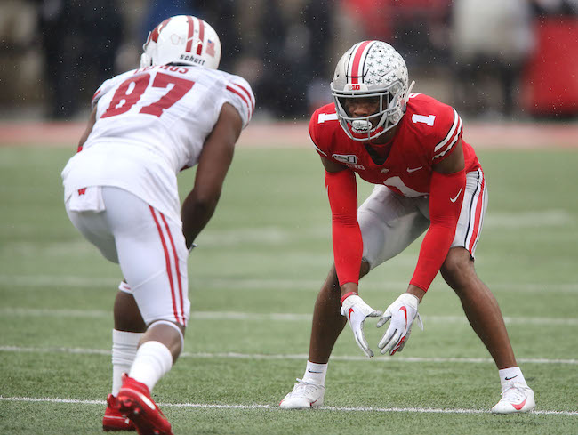 Jeff Okudah, Ohio State Buckeyes (October 26, 2019)