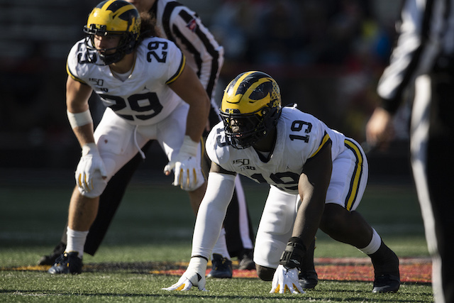Kwity Paye, Michigan Wolverines (November 2, 2019)