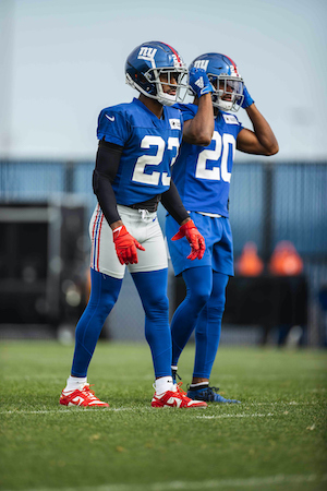 Logan Ryan and Julian Love, New York Giants (October 1, 2020)