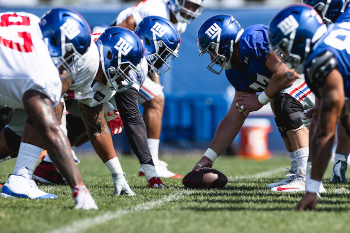 New York Giants Training Camp (August 17, 2020)