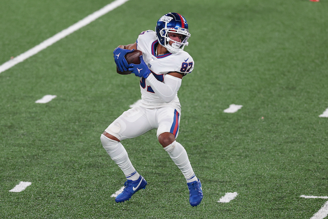 Sterling Shepard, New York Giants (November 2, 2020)