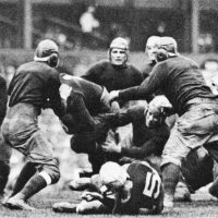 Mickey Murtagh (15) and Tilley Voss (11), New York Giants (October 17, 1926)