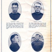 """Cowboy"" Hill, ""Texas"" Grigg, ""Tillie"" Voss, Steve Owen; New York Giants (1926)"