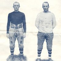 Hinkey Haines and Jack McBride, New York Giants (October 23, 1927)