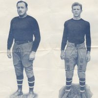 Joe Alexander and George Murtagh, New York Giants (November 6, 1927)