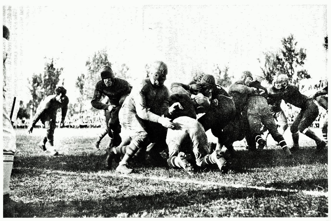 New York Giants at Green Bay Packers (October 7, 1928)