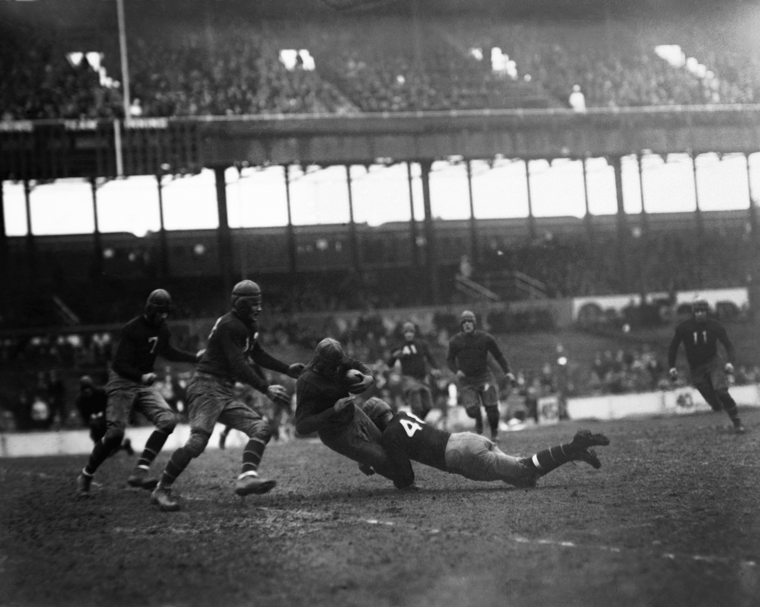 Hap Moran, New York Giants (November 17, 1929)