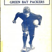 Benny Friedman, New York Giants vs Green Bay Packers Game Program (November 24, 1929)