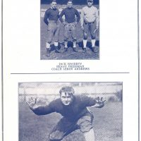Jack Hagerty, Benny Friedman, LeRoy Andrews, Dan McMullen, New York Giants (1929)