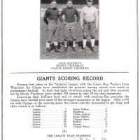 New York Giants vs. Green Bay Packers (November 24, 1929)