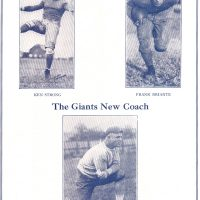 New York Giants vs. Staten Island Stapletons (October 13, 1929)