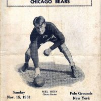 Mel Hein, New York Giants (November 15, 1931)