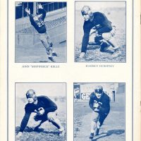 "John ""Shipwreck"" Kelly, Maurice Dubofsky, Tom Jones, Bo Molenda; New York Giants Game Program (1932)"
