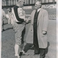 Cal Hubbard and Steve Owen, New York Giants (1936)