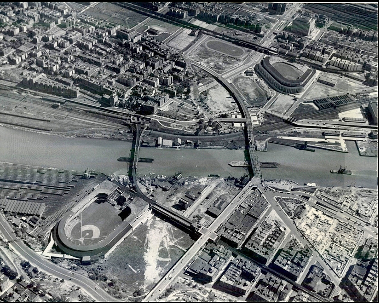 Polo Grounds and Yankee Stadium (1936)