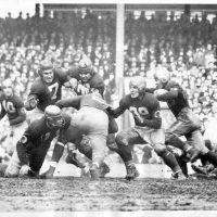Mel Hein (#7), New York Giants (December 5, 1937)
