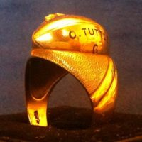 New York Giants 1938 NFL Championship Ring (Orville Tuttle)