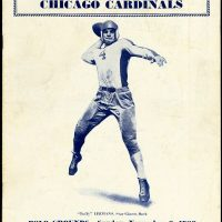 New York Giants - Chicago Cardinals Game Program (November 6, 1938)