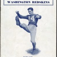 Ward Cuff, New York Giants Game Program (December 4, 1938)