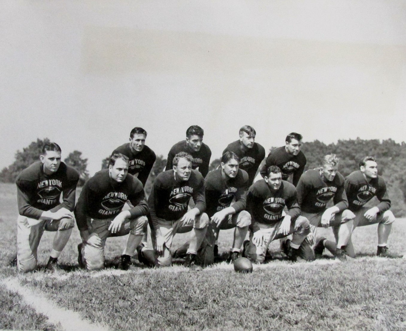 1939 New York Giants Training Camp