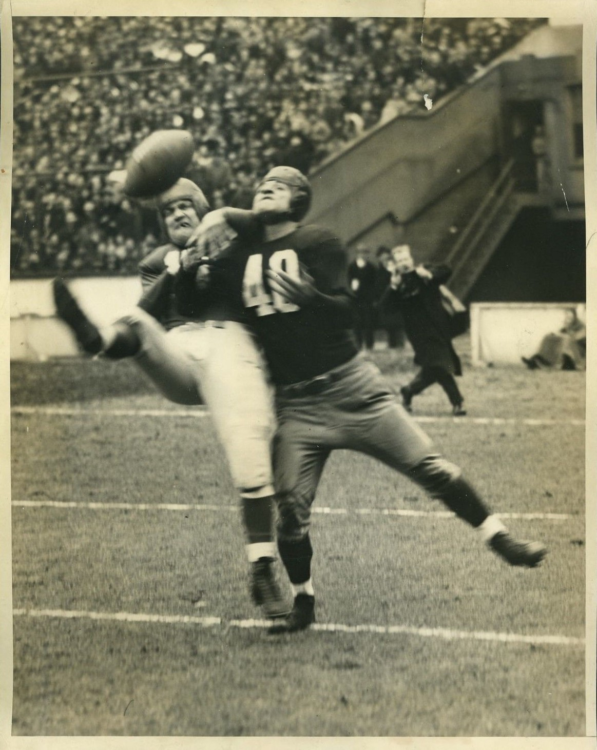 Hank Soar (15), New York Giants (December 3, 1939)