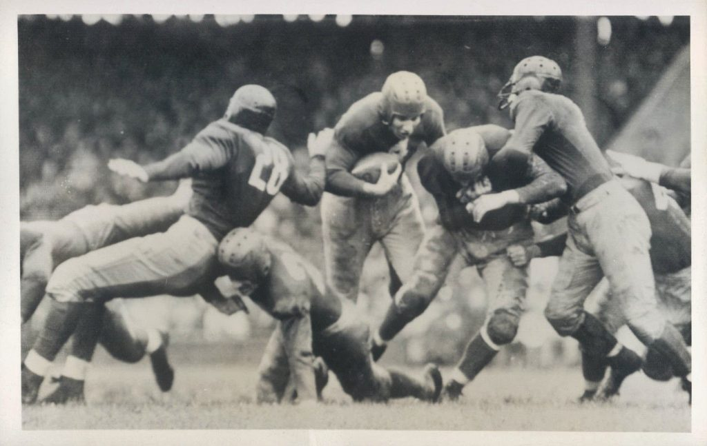 Tuffy Leemans, New York Giants (October 1, 1939)